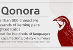 Qonora [4 Fonts]
