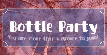 Bottle Party [1 Font]