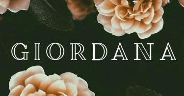 Giordana [2 Fonts]