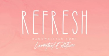 Refresh [2 Fonts]