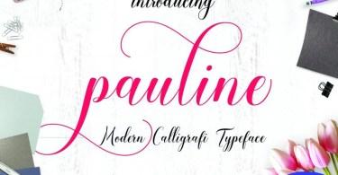 Pauline Script [1 Font]