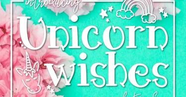 Unicorn Wishes [1 Font]