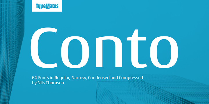 Conto Super Family [64 Fonts] | The Fonts Master