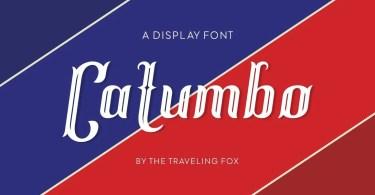 Catumbo [1 Font]