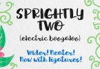 Sprightly Two [1 Font]