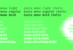 Lexia Mono Super Family [6 Fonts]