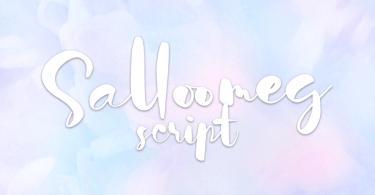 Salloomeg Script [1 Font]