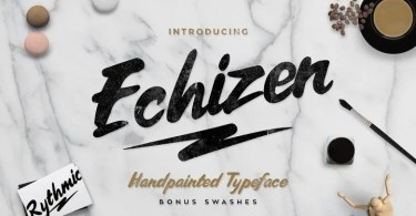 Echizen [2 Fonts]