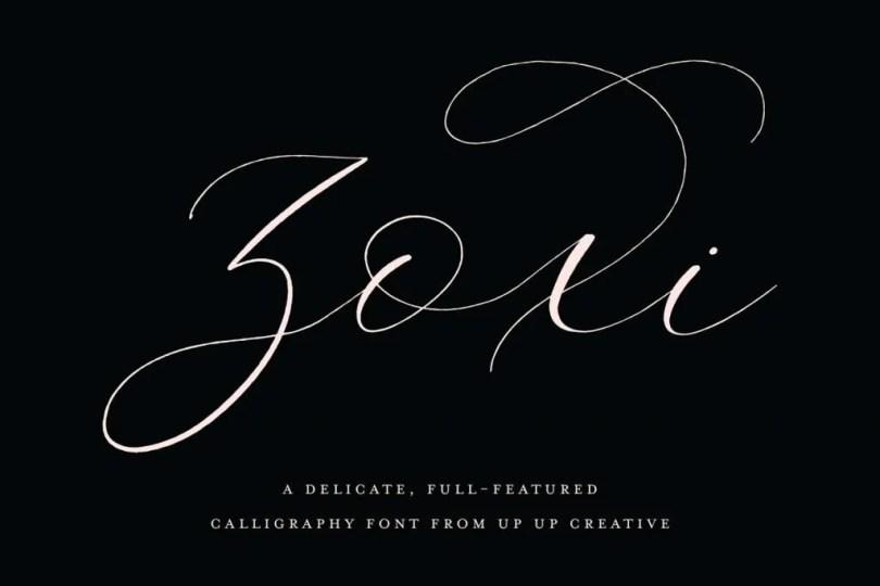 Zoxi [1 Font] | The Fonts Master