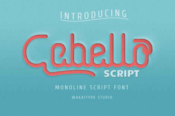 Cabello Script [1 Font]