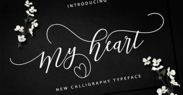 My Heart Script [1 Font]
