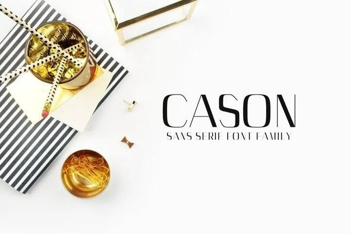 Creativetacos Cason [5 Fonts] | The Fonts Master