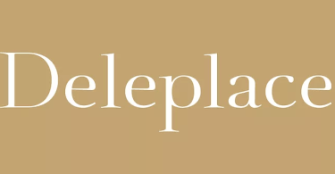 Deleplace [3 Fonts]