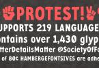 Protest [1 Font]