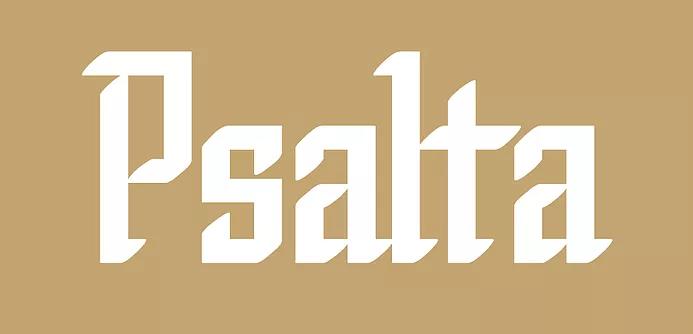 Psalta [4 Fonts]   The Fonts Master