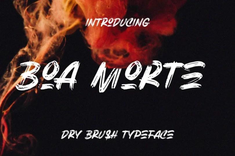 Boa Morte [1 Font] | The Fonts Master