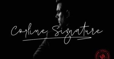 Corline Signature [2 Fonts]
