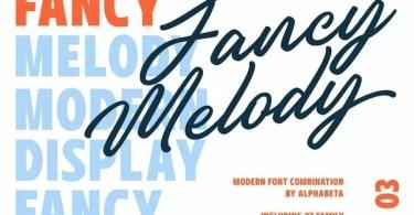 Fancy Melody [3 Fonts]