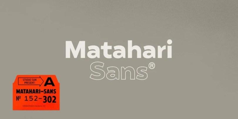 Matahari Sans Super Family [52 Fonts]   The Fonts Master