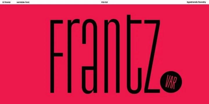 Tt Frantz [3 Fonts] | The Fonts Master