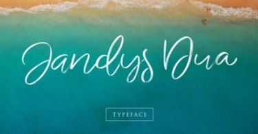 Jandys [3 Fonts]