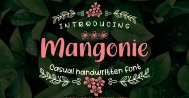 Mangonie [1 Font]