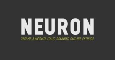 Neuron [25 Fonts]