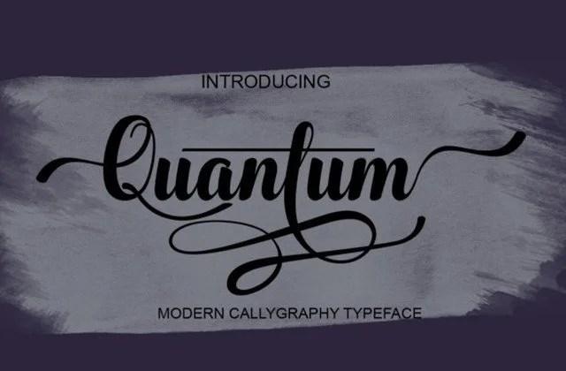 Quantum [1 Font] | The Fonts Master