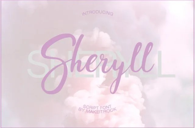 Sheryll [1 Font] | The Fonts Master