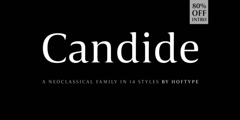 Candide Super Family [16 Fonts] | The Fonts Master