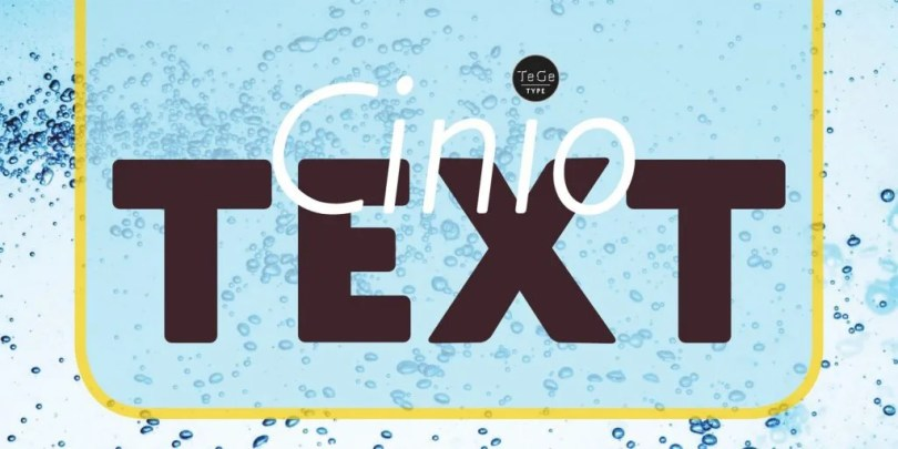 Cinio Text Super Family [12 Fonts]   The Fonts Master