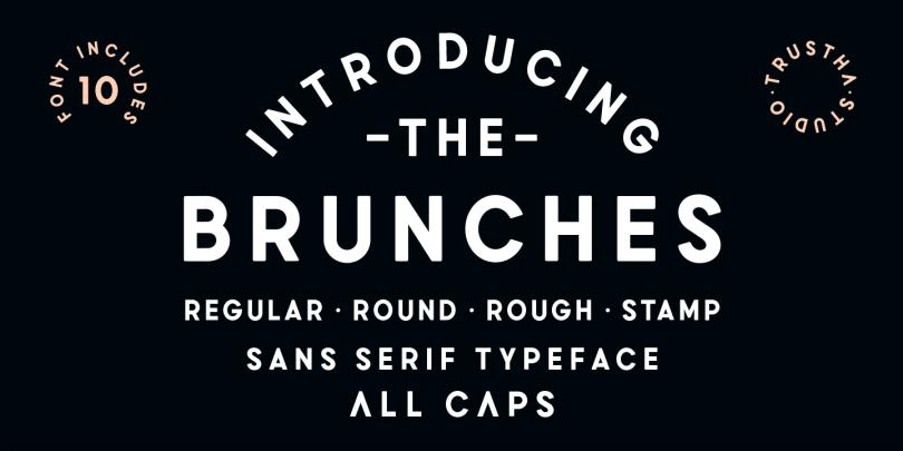 Brunches [10 Fonts]