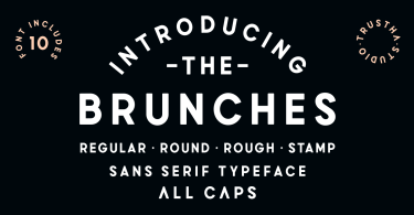 Brunches [10 Fonts]