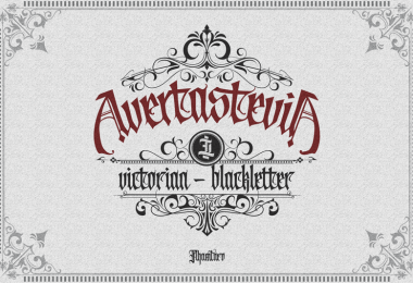 Avertastevia [3 Fonts+Extras]