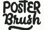 Poster Brush [5 Fonts]