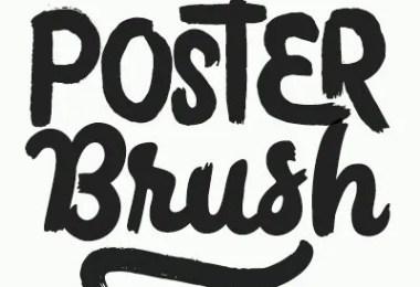 Poster Brush [5 Fonts]