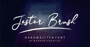 Jester Brush [2 Fonts]