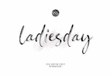 Ladiesday [1 Font]