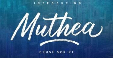 Muthea [2 Fonts]