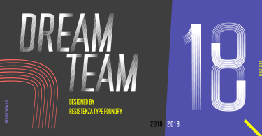 DreamTeam [4 Fonts]