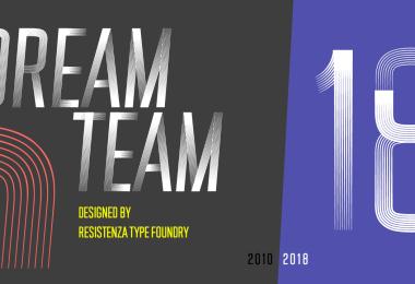 DreamTeam [4 Fonts]