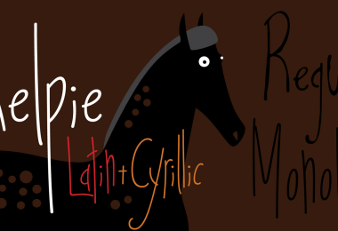 Kelpie [2 Fonts]