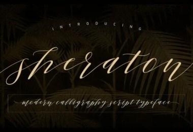 Sheraton Script [1 Font]