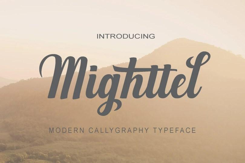Mighttel [1 Font]