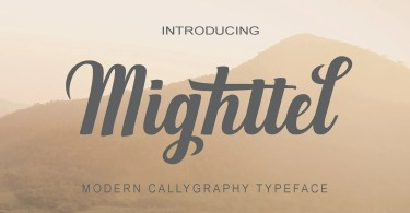 Mighttel [1 Font]