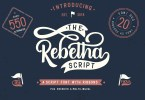 Rebetha Font Duo + Extras [3 Fonts & Extras]