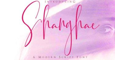 Shanghae [1 Font]