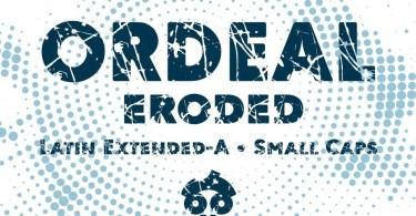 Ordeal Eroded [1 Font]