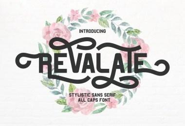 Revalate [1 Font]