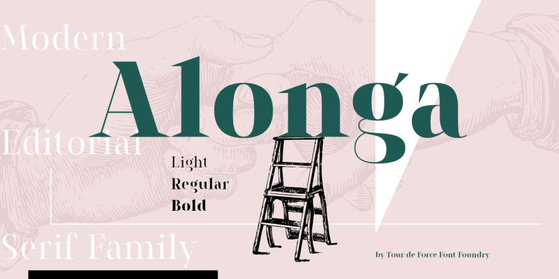 Alonga [3 Fonts]